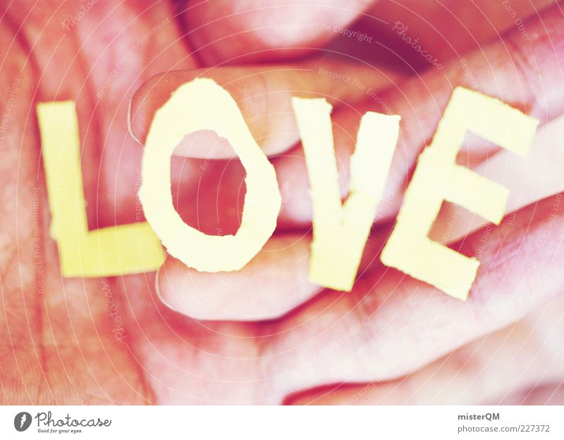 Hand Love Emotions Fingers Esthetic Letters (alphabet) Near Touch Harmonious Lovers Safety (feeling of) Display of affection Capital letter Hold hands