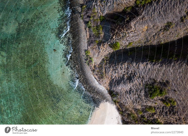 Lombok Vacation & Travel Adventure Beach Mountain Earth Air Water Climate change Canyon Waves Coast Island Swimming & Bathing Flying Hiking Free Infinity