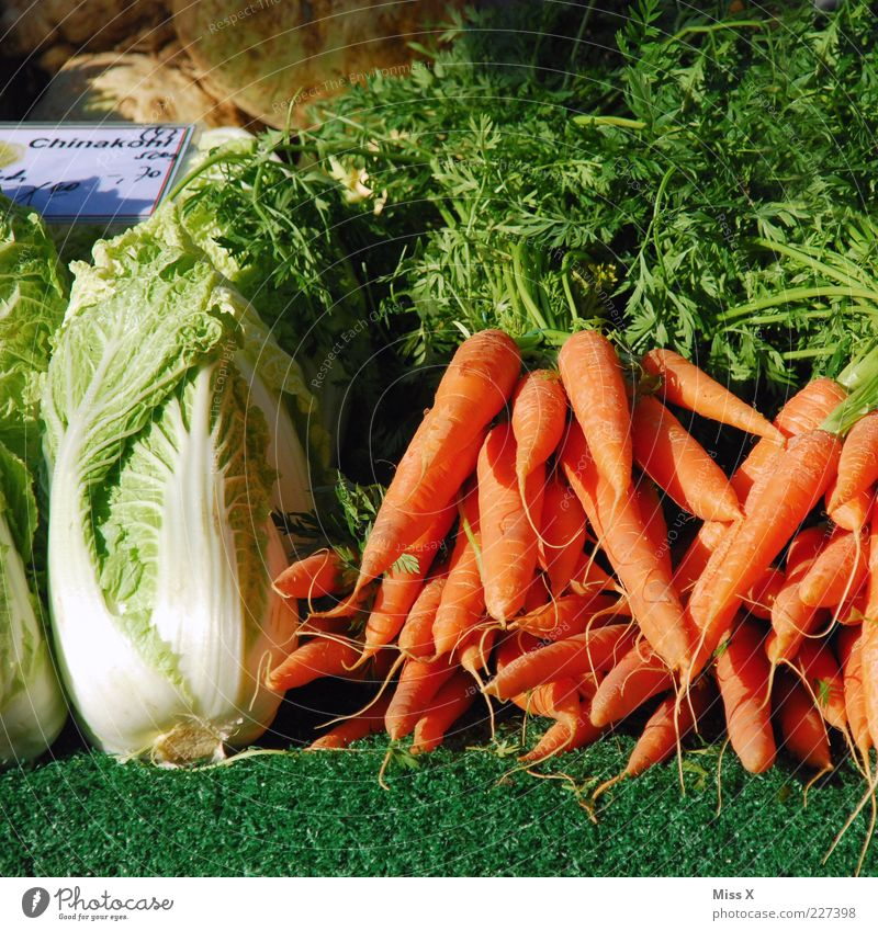 weekly market Food Vegetable Lettuce Salad Nutrition Organic produce Vegetarian diet Fresh Delicious Carrot Chinese cabbage Cabbage Root vegetable