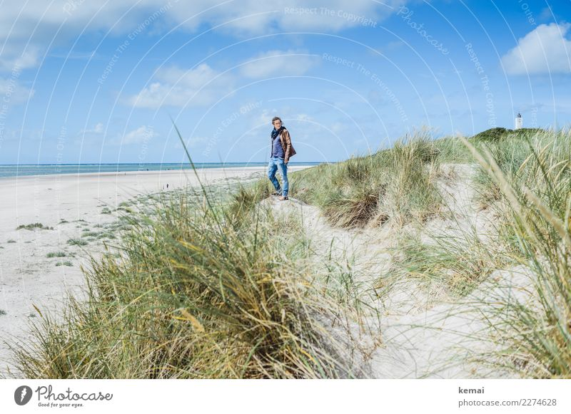 in the dunes Lifestyle Style Harmonious Well-being Contentment Senses Relaxation Calm Leisure and hobbies Vacation & Travel Trip Adventure Far-off places