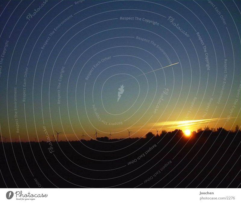sundowner Sunset Fehmarn airplane