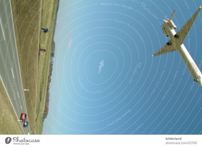 Movement Airplane Aviation Airport Airplane landing
