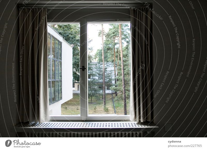 Nature Calm Loneliness House (Residential Structure) Relaxation Life Wall (building) Window Environment Architecture Style Wall (barrier) Contentment Room Design Esthetic