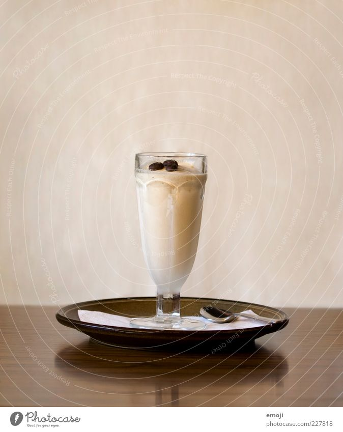Brown Glass Nutrition Ice cream Coffee Delicious Plate Dessert Spoon Beverage Iced coffee