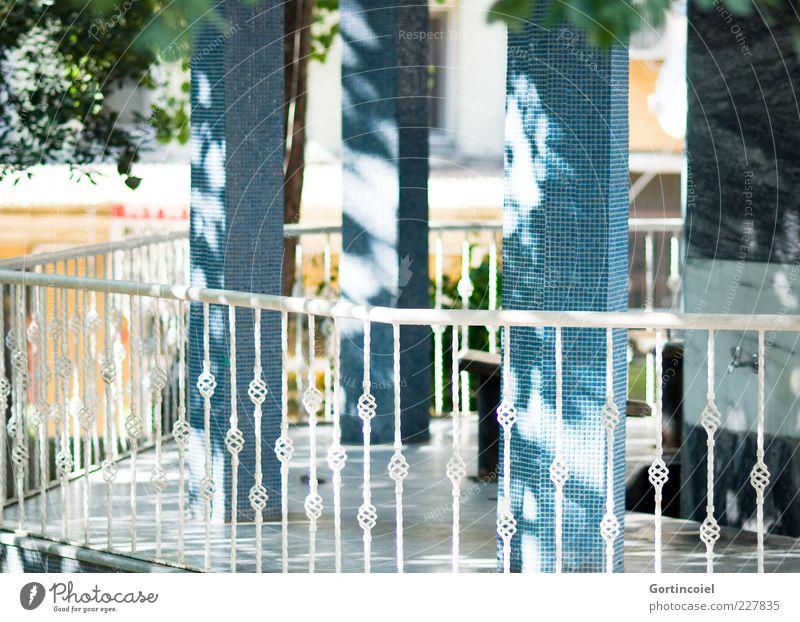 Wudu' Building Blue Mosque Handrail Flare Visual spectacle Column Ornate Islam cihangir Firüzaga Cami Istanbul Turkey Colour photo Exterior shot Day Light