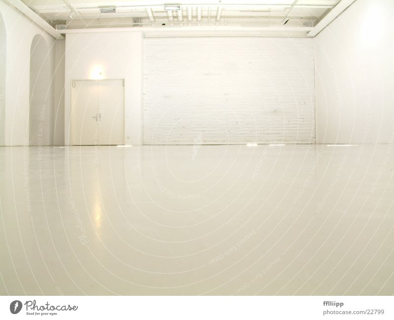 White Bright Room Architecture Floor covering