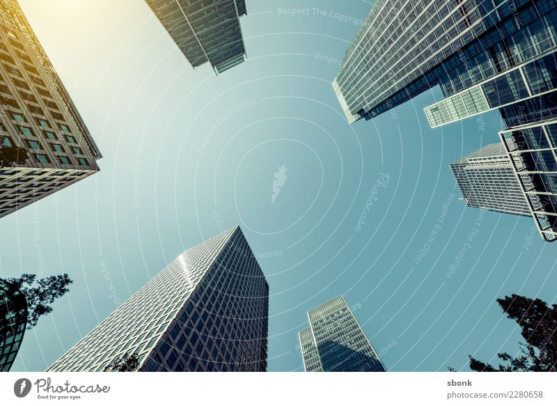 Concrete Jungle Education Profession Economy Business Skyline House (Residential Structure) High-rise Bank building Manmade structures Building Architecture