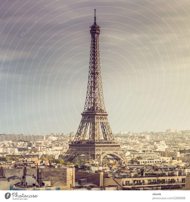 Vacation & Travel Town Far-off places Love Tourism Trip Adventure Skyline Capital city France Paris Eiffel Tower