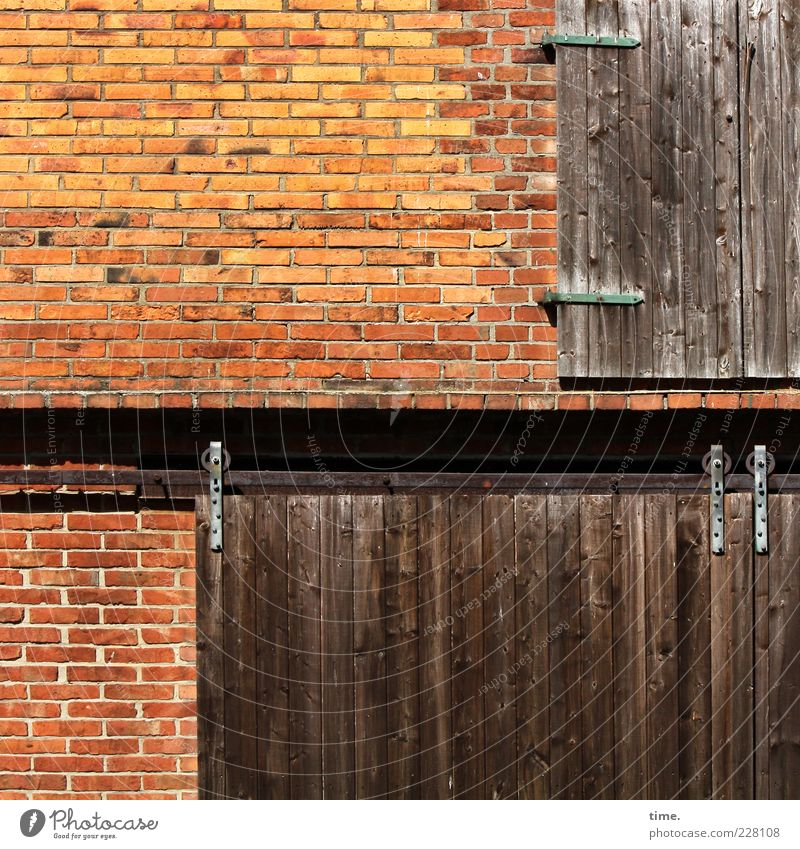 Red Wall (building) Wood Wall (barrier) Metal Brown Facade Closed Metalware Farm Brick Gate Iron Barn Wood grain Molding