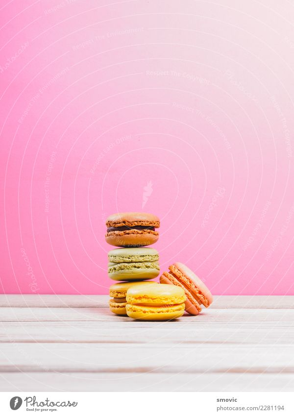 Macarons Funny Food Pink Nutrition Authentic Table Delicious France Candy Breakfast Cake Dessert Baked goods Cooking Chocolate Diet