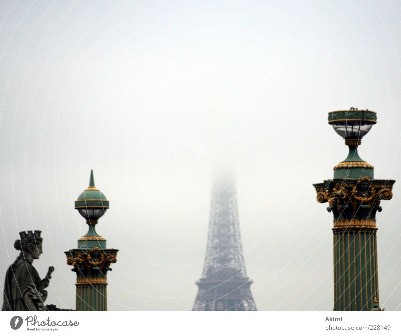 """covered """"Tour Eiffel""""... Art Work of art Paris France Europe Capital city Manmade structures Architecture Tourist Attraction Landmark Monument Eiffel Tower Old"""