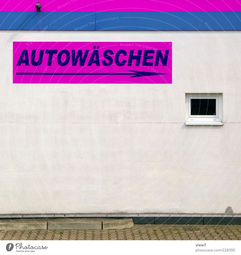 Window Wall (building) Wall (barrier) Stone Line Pink Facade Concrete Design Modern Fresh Esthetic Authentic Characters Simple Sign