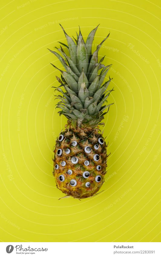 #AS# Anawas? Art Work of art Esthetic Pineapple Ananas leaves Pineaple platation Joy Comical Funster The fun-loving society Eyes Many Childish Playing Exotic