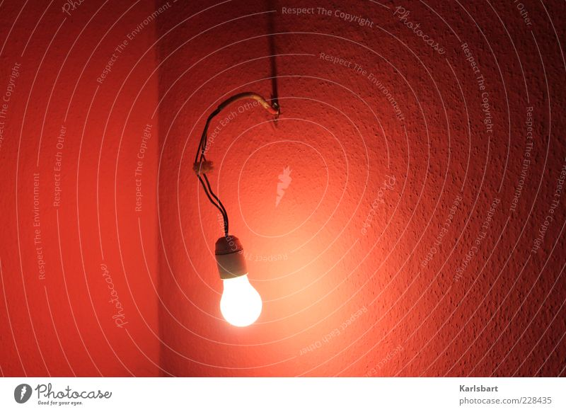 Red Wall (building) Environment Warmth Wall (barrier) Lamp Room Lighting Flat (apartment) Crazy Energy industry Lifestyle Electricity Cable Living or residing