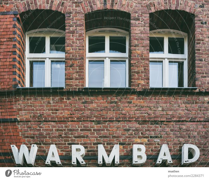 warmbath Town Deserted House (Residential Structure) Swimming pool Manmade structures Building Architecture Wall (barrier) Wall (building) Window Old Healthy