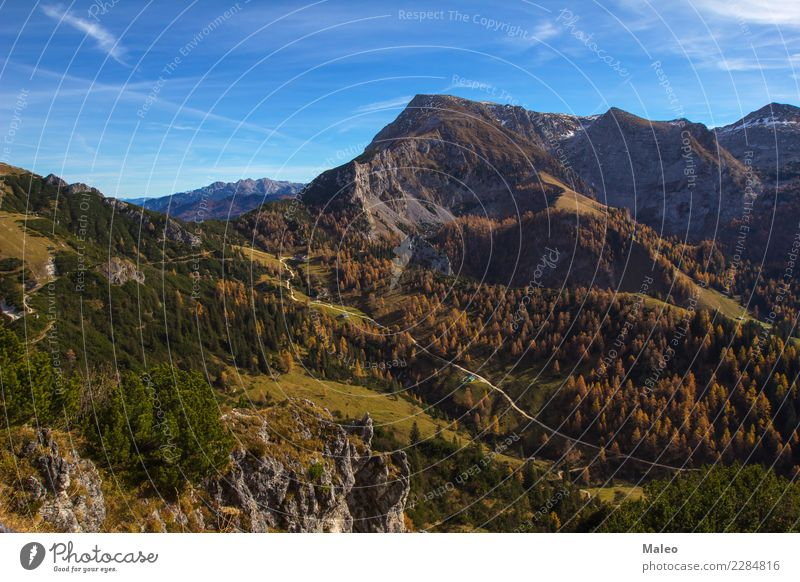Jenner (surroundings of the mountain) Mountain Alps Germany Sky Landscape Hiking Bavaria Berchtesgaden Watzmann Panorama (View) Upper Perspective