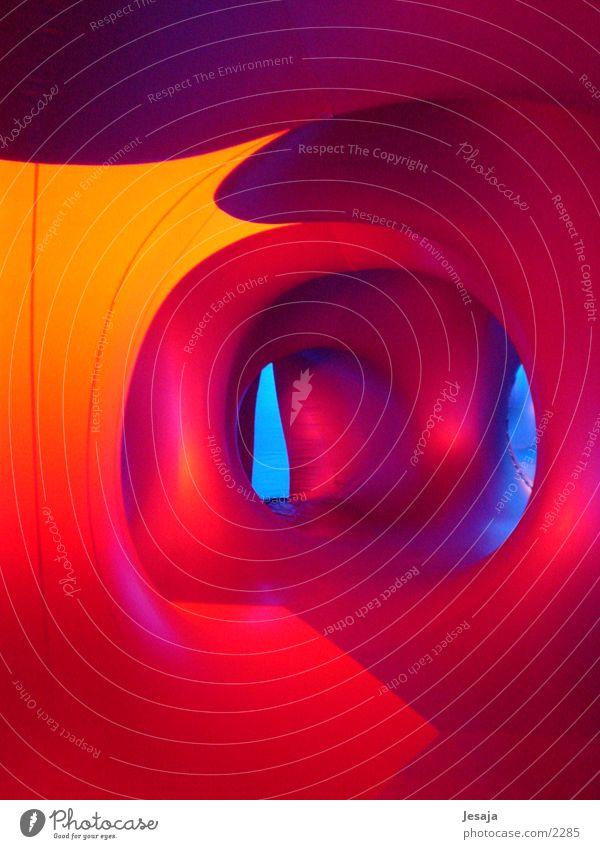 Colour Bright Room Architecture UFO Corridor Rubber Futurism Abstract Spacecraft