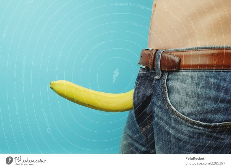 Human being Naked Blue Eroticism Yellow Funny Masculine Body Open Sex Creativity Stand Crazy Pants Jeans Self-confident