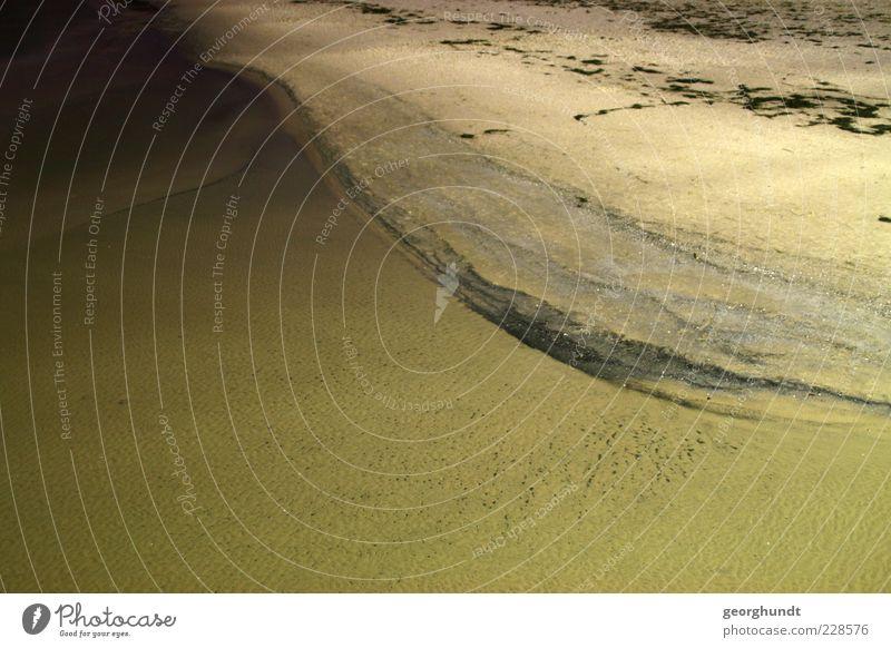 Nature Water Ocean Environment Landscape Emotions Sand Coast Moody Island Baltic Sea Surf Rügen Sandy beach Water reflection
