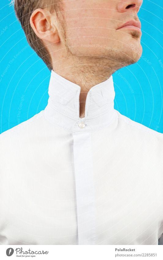 #AS# High collar III Human being Masculine 1 Esthetic Above Upward Suit Business Stock market Bank clerk Insurance salesman Noble Slick Shirt Shirt collar Neck