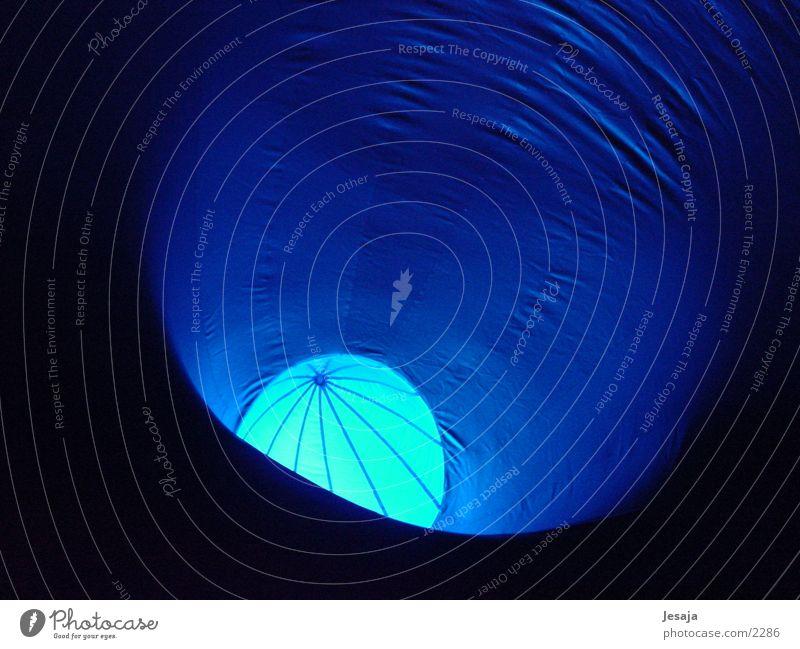 Blue Air Architecture Ball Moon Harmonious Tent Rubber