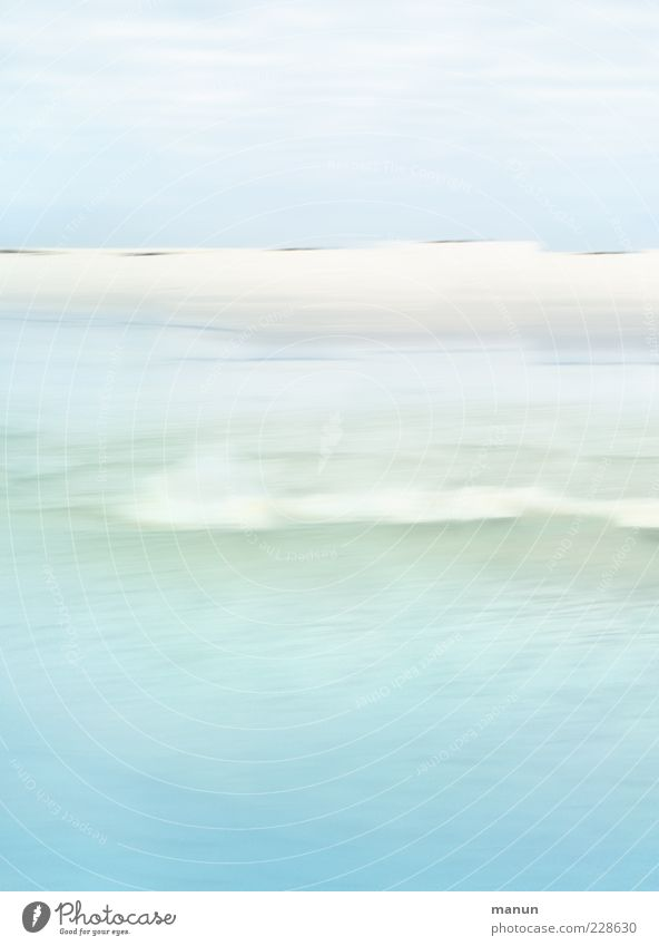 Nature Water Ocean Beach Landscape Coast Bright Waves Exceptional Light blue Amrum