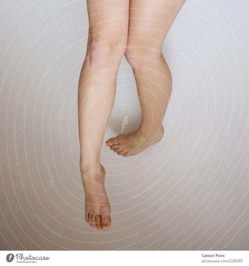 Beautiful Legs Feet Natural Hang Barefoot Toes Knee Thigh Calf Groomed