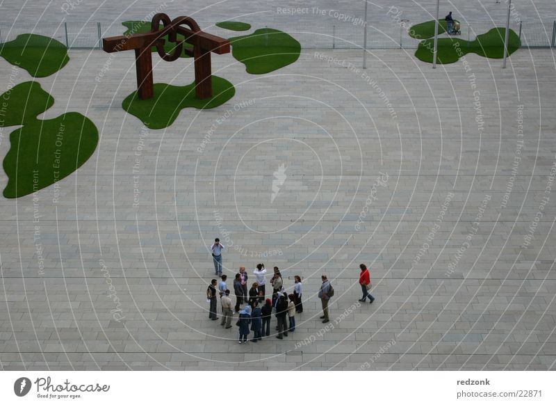 Green Berlin Architecture Germany Perspective Places Patch Tourist Visitor Federal Chancellor Federal Chancellery