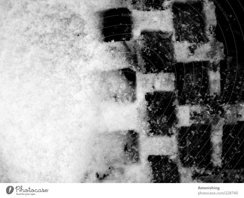 Nature White Winter Black Cold Snow Environment Gray Lanes & trails Ice Ground Frost Square Checkered Paving stone Sharp-edged