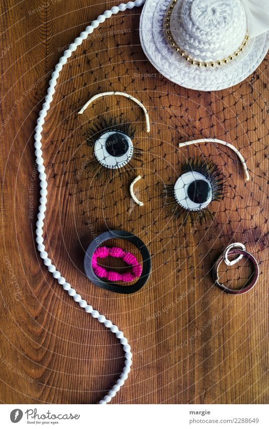 emotions...cool faces: collage fine lady, ladylike Human being Feminine Young woman Youth (Young adults) Woman Adults Face Eyes Mouth 1 Fashion Clothing Earring