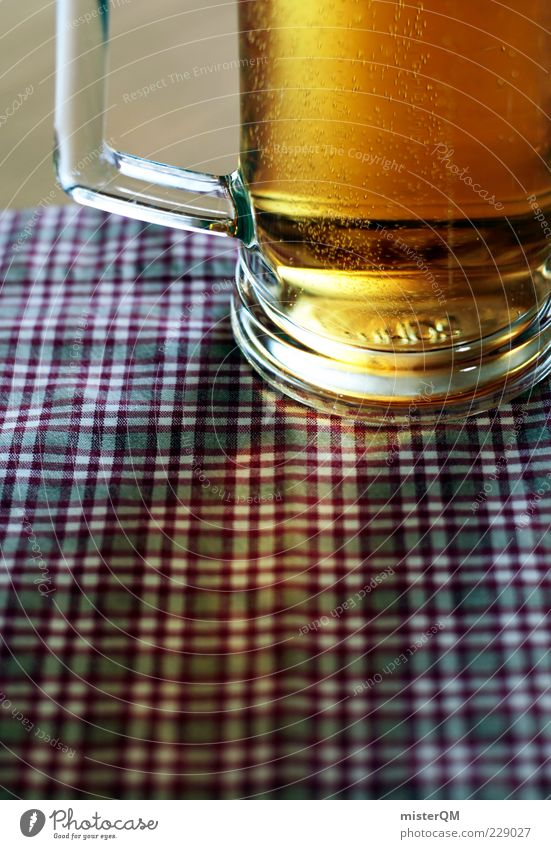 Summer Germany Feasts & Celebrations Glass Esthetic Drinking Beer Delicious Alcoholic drinks Bavaria Checkered Oktoberfest Partially visible Sense of taste Midday