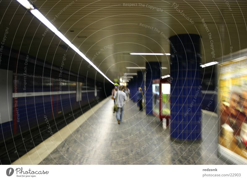 Man Architecture Walking Hamburg Railroad Station Underground Train station London London Underground Platform Reeperbahn