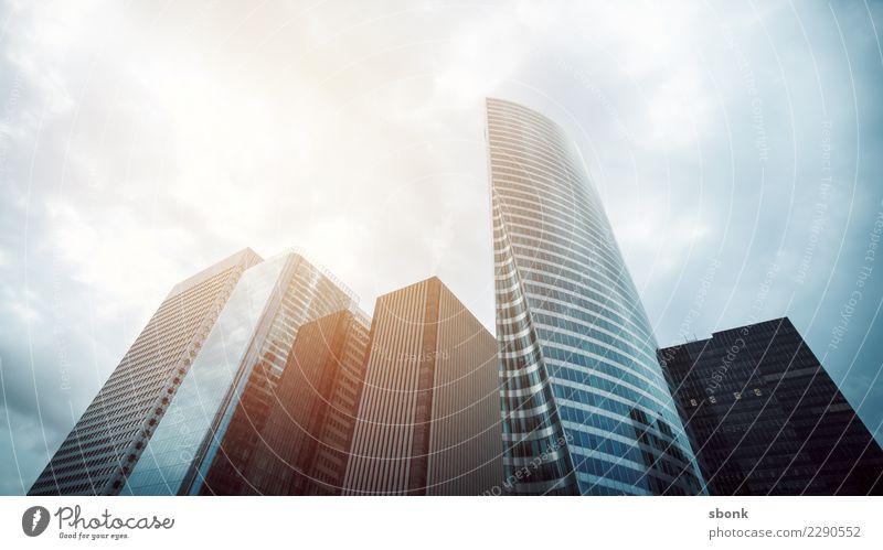 Business Europe High-rise Gloomy Skyline Paris City London Business District