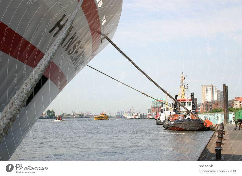 Water Ocean Blue Watercraft Hamburg Harbour Jetty Navigation Cruise Mole Steamer