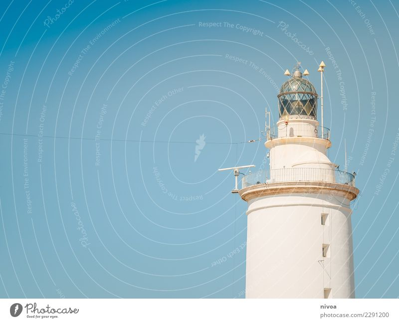 lighthouse Vacation & Travel Trip Adventure Far-off places Freedom Cruise Science & Research Environment Air Water Cloudless sky Climate Weather