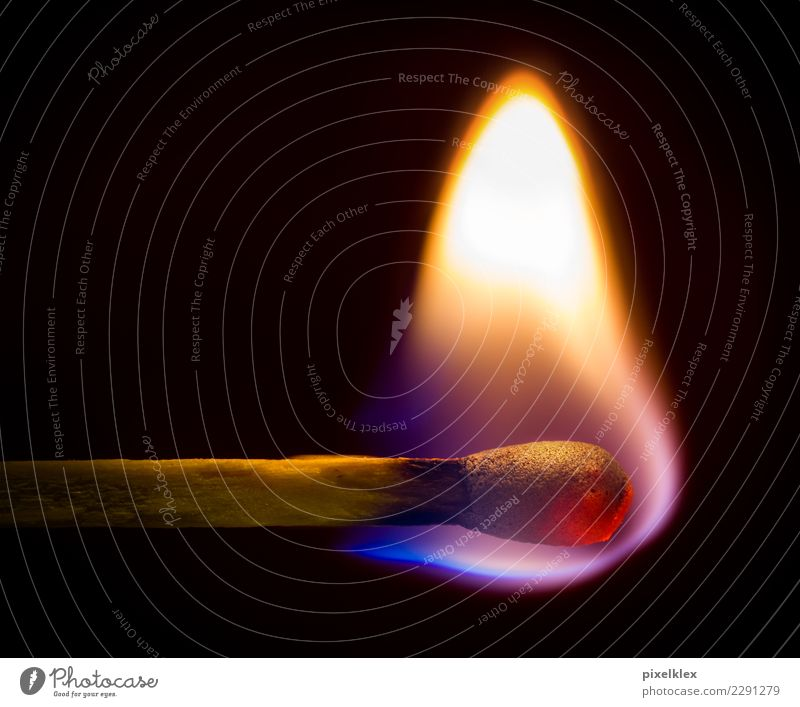 match Elements Fire Match Wood Illuminate Painting (action, work) Dark Hot Bright Small Near Warm-heartedness Dangerous Transience Insurance Burn Flame Ignite