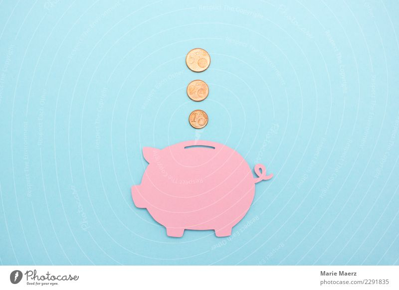 Blue Pink Future Simple Money Financial institution Luxury Save Financial Industry Coin Thrifty Money box