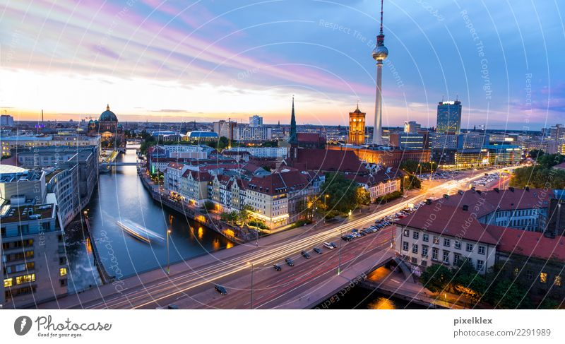 Berlin Vacation & Travel Tourism Far-off places Sightseeing City trip Downtown Berlin Germany Europe Town Capital city Skyline House (Residential Structure)