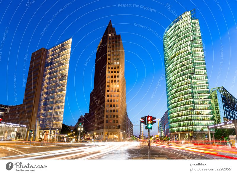 Potsdamer Platz, Berlin Luxury Vacation & Travel Tourism Sightseeing City trip Night life Germany Town Capital city Downtown House (Residential Structure)