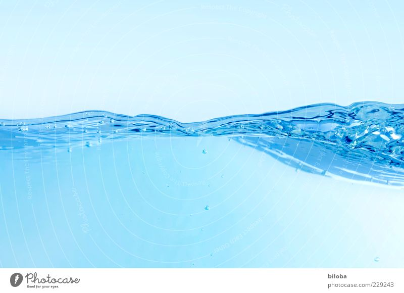 Nature Water Blue White Calm Cold Movement Waves Time Design Fresh Esthetic Action Change Elements Clean