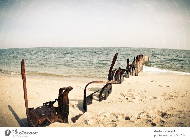 Sky Water Vacation & Travel Summer Ocean Beach Freedom Landscape Sand Coast Air Waves Horizon Free North Sea Footprint