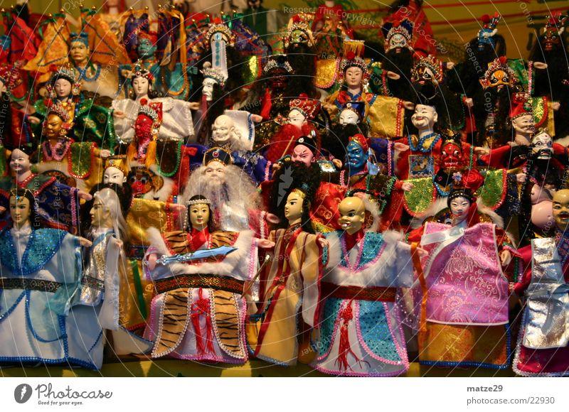 China Dolls Taiwan Kasper Toys Marionette puppet master