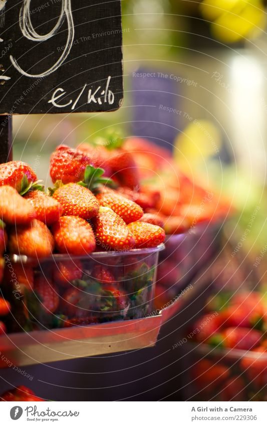 Susan's Strawberries Food Fruit Strawberry Nutrition Organic produce Vegetarian diet Sell Fresh Healthy Red Sweet Vitamin Bowl Plastic basket Markets
