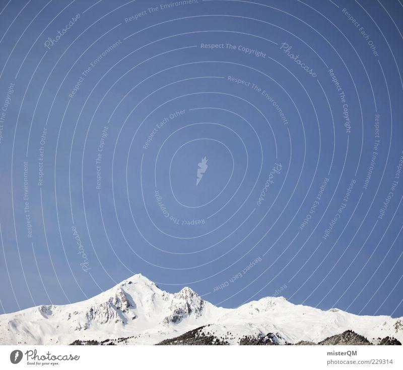 Sky Winter Landscape Mountain Tall Climate Level Point Alps Peak Austria Snowscape Snowcapped peak Winter vacation Mountain range Winter's day