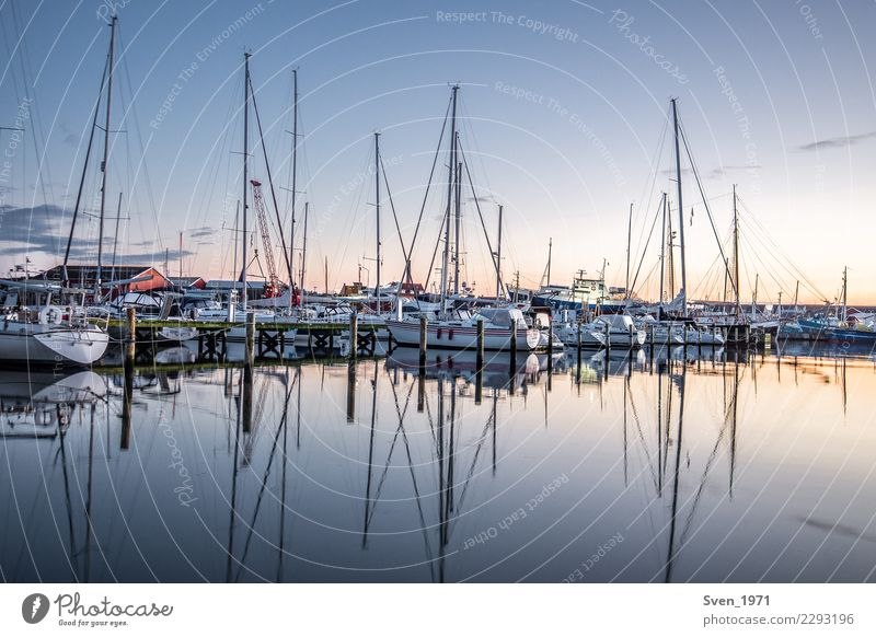 Marina Gilleleje Vacation & Travel Ocean Sailing Water Sunrise Sunset Baltic Sea Denmark Europe Village Harbour Sailboat Maritime Calm Serene Yacht harbour