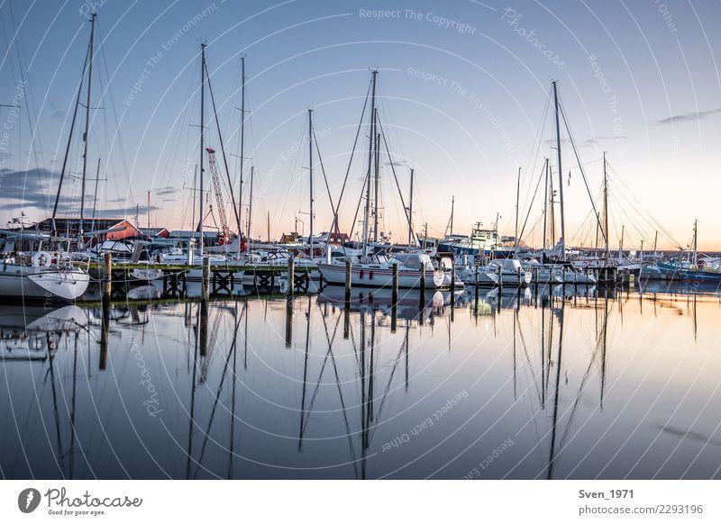 Vacation & Travel Water Ocean Calm Europe Baltic Sea Harbour Village Serene Sailing Maritime Sailboat Denmark Yacht harbour
