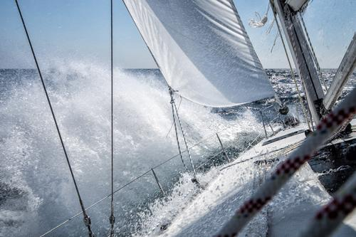 sailing Vacation & Travel Adventure Freedom Aquatics Sailing Water Drops of water Wind Waves Baltic Sea Boating trip Sailboat On board Maritime