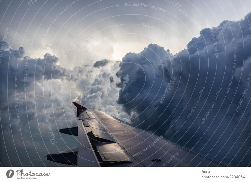 turbulences Vacation & Travel Tourism Adventure Far-off places Trade Environment Nature Sky Sky only Clouds Storm clouds Bad weather Wind Gale