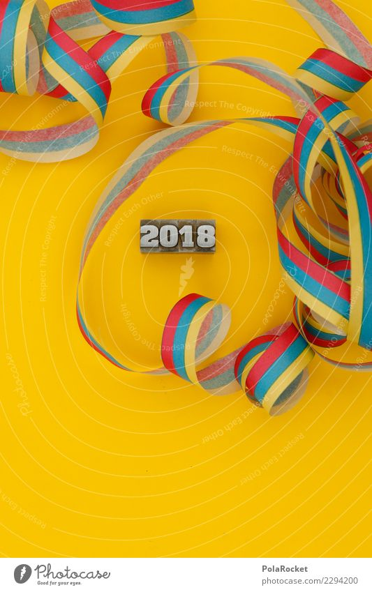 #AS# PartyRest Art Esthetic 2018 2017 Digits and numbers New Year's Eve Party goer Party space Party service Party night Remainder Colour photo Multicoloured
