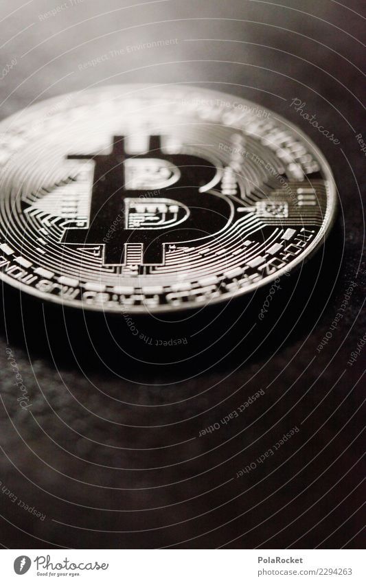 #AS# shiny coin Art Esthetic Cryptocurrency Silver Symbols and metaphors Paying Means of payment Money Financial institution Coin Donation Monetary capital